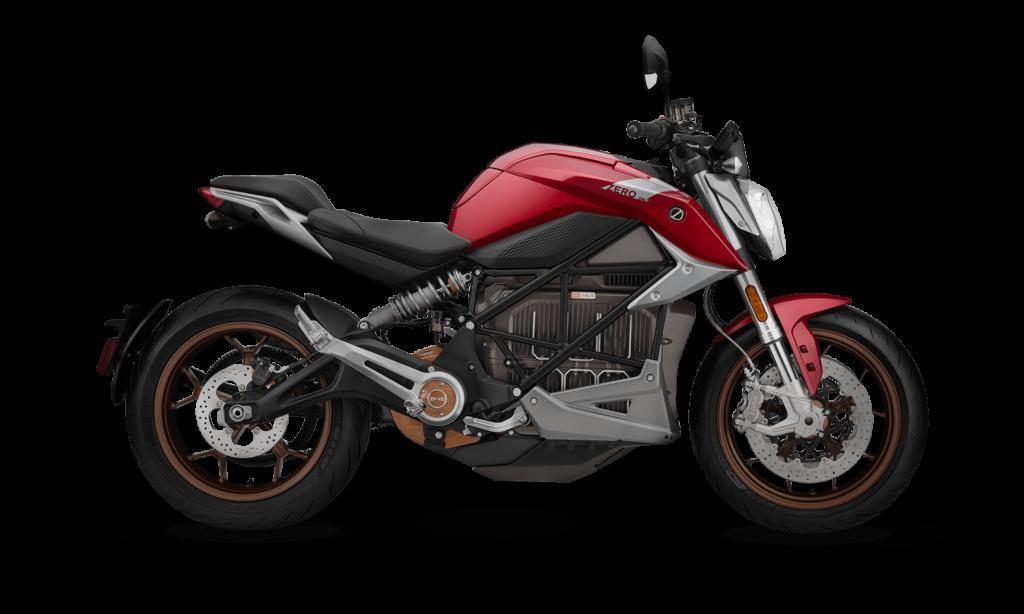 Elektro-Motorrad Zero SR/F maximale Zugkraft am Hinterrad